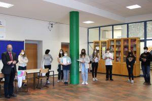 Literaturwettbewerb Siegerehrung